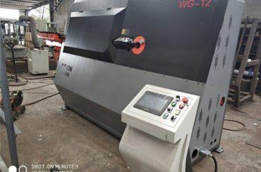 कारखाने की कीमत डबल वायर्ड स्वचालित रकाब झुकने मशीन