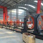 सीएनसी स्टील पिंजरे वेल्डिंग मशीन स्टील रोल सीम वेल्डर इमारत के लिए उपयोग करें